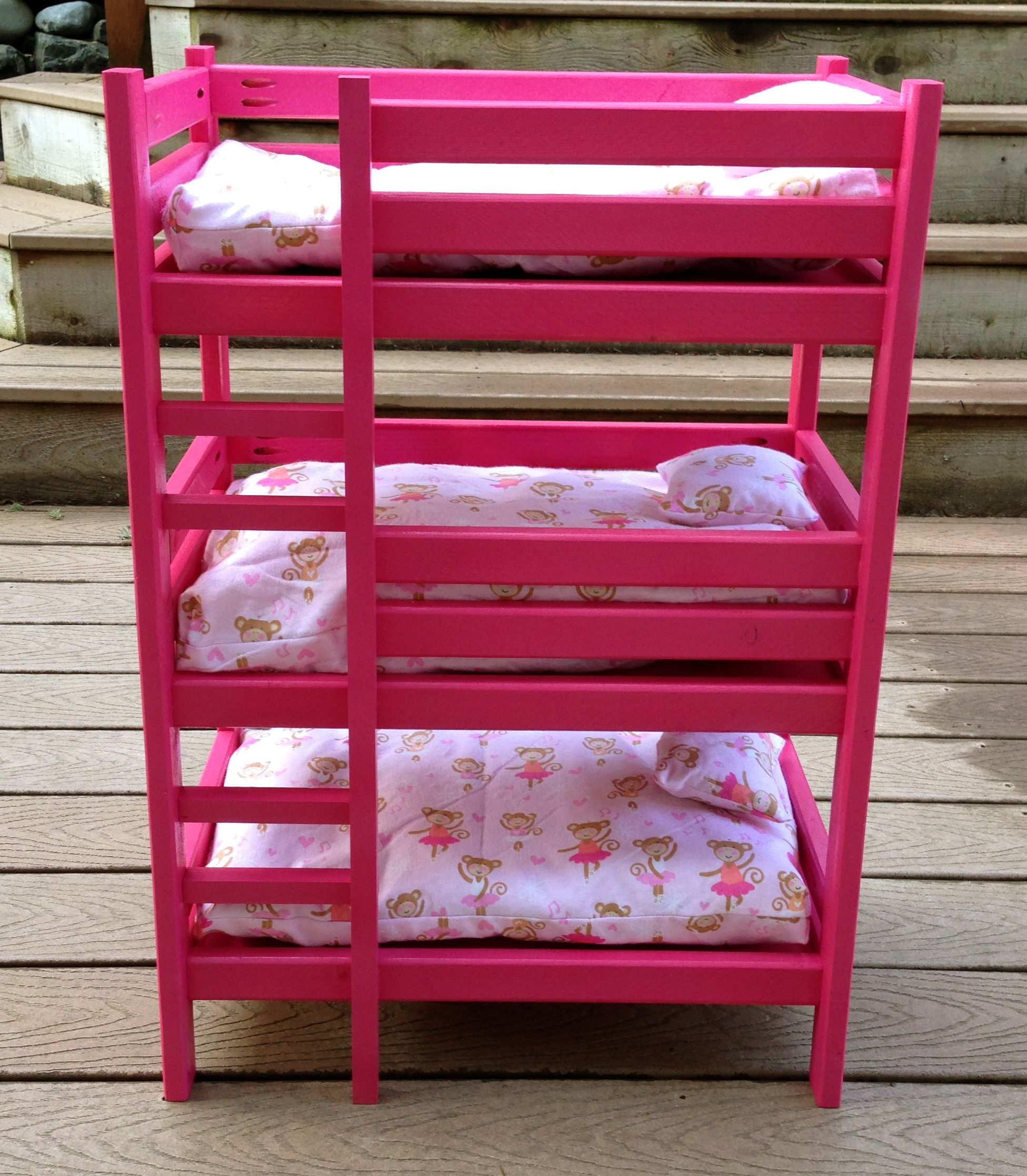 Triple Doll Bunk Bed Mike Is So Making This For Sydney