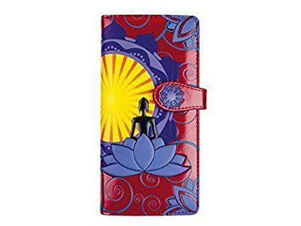 Lunga borsa portafoglio miniportafoglio per i giovani donna Model 'Budda'