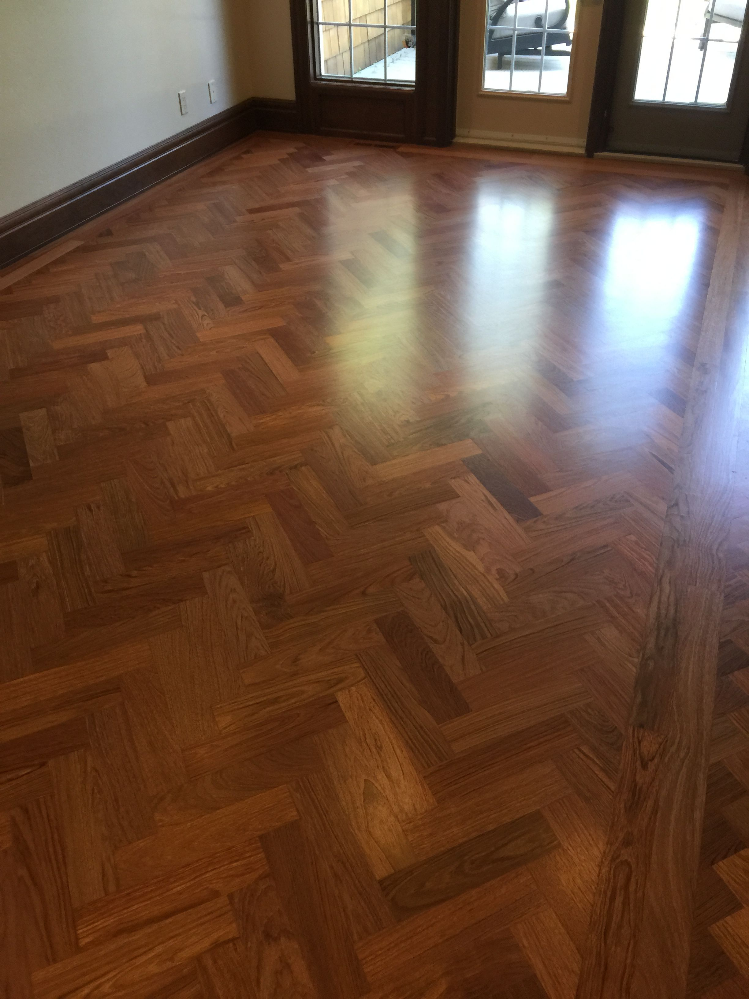 Brazilian Cherry Jatoba Custom Milled Sand And Finished On Site Natural Wood Floor Design Beautiful Bedrooms Master Floor Design