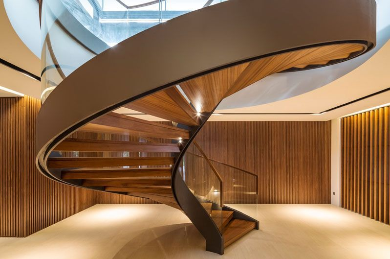 20 Of The Most Beautiful Spiral Staircase Designs Ever Staircase