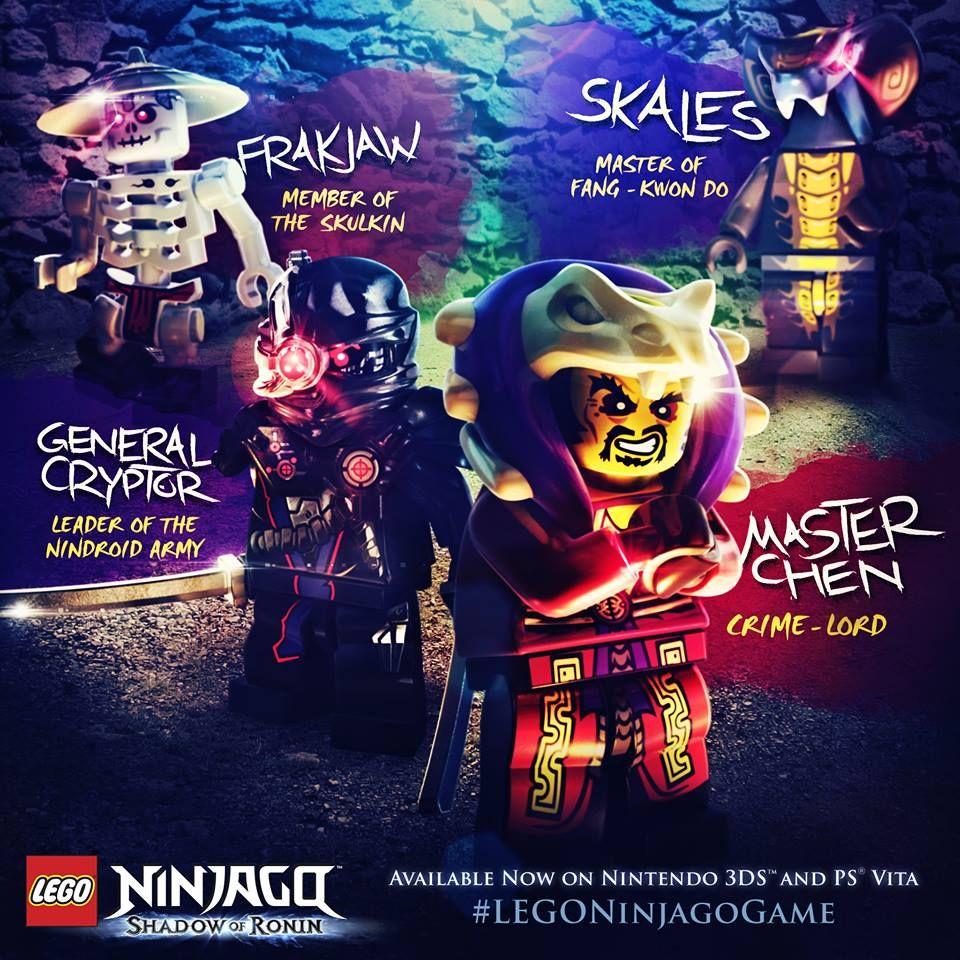 The Ninjago Villains are not easy to defeat!   Lego poster, Ninjago games,  Ninjago