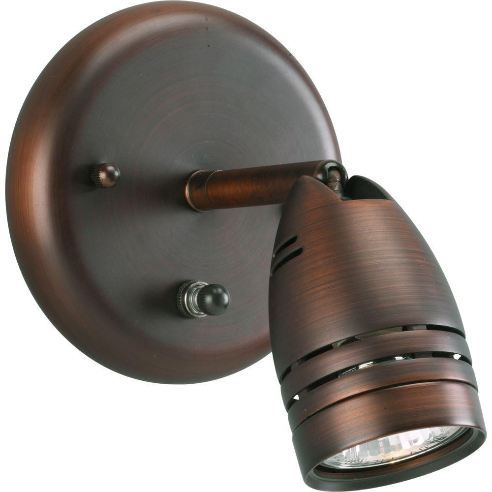 Progress lighting light white spotlight fixture products