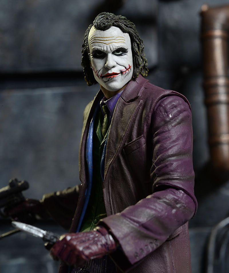 1//6 Joker Figure Heath Ledger Purple Coat Premium Set BATMAN THE DARK KNIGHT