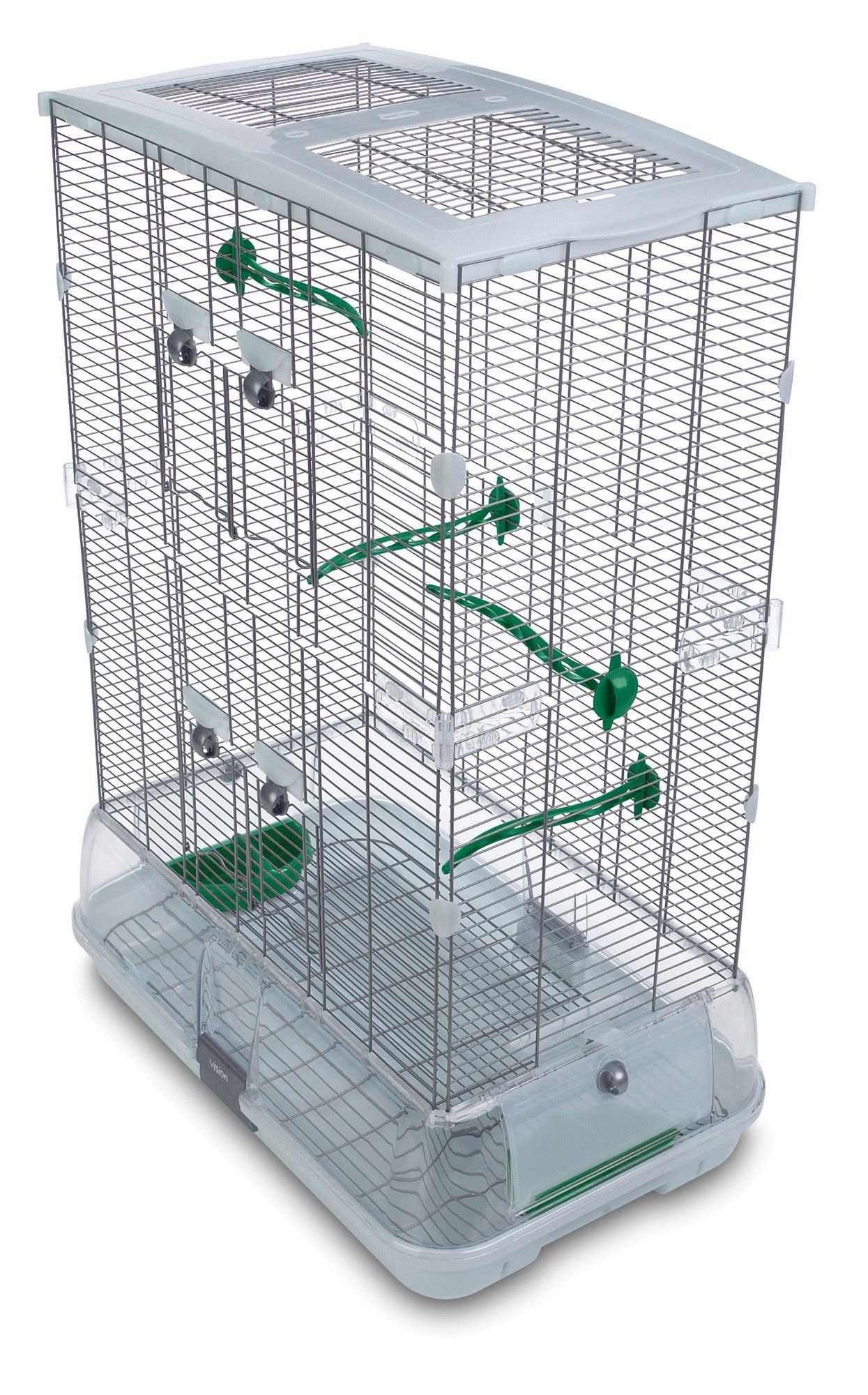 Double Vision Bird Cage with Small Wire | BIRB | Pinterest | Vision ...