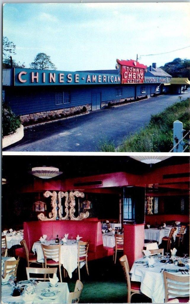 Mamroneck New York Postcard Tommy Chen S Casino Chinese Restaurant C1950s Chinese Restaurant York Restaurants Restaurant