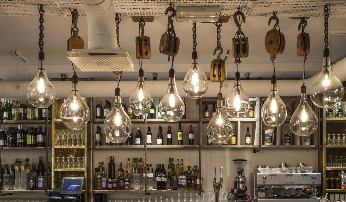 Bespoke projects rothschild bickers pulley lighting vintage bar bespoke projects rothschild bickers pulley lighting vintage bar lighting pendants aloadofball Image collections
