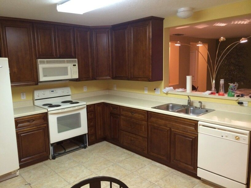 Solid Wood Hennessy Cabinetry Installed By Our Dream Kitchen Llc