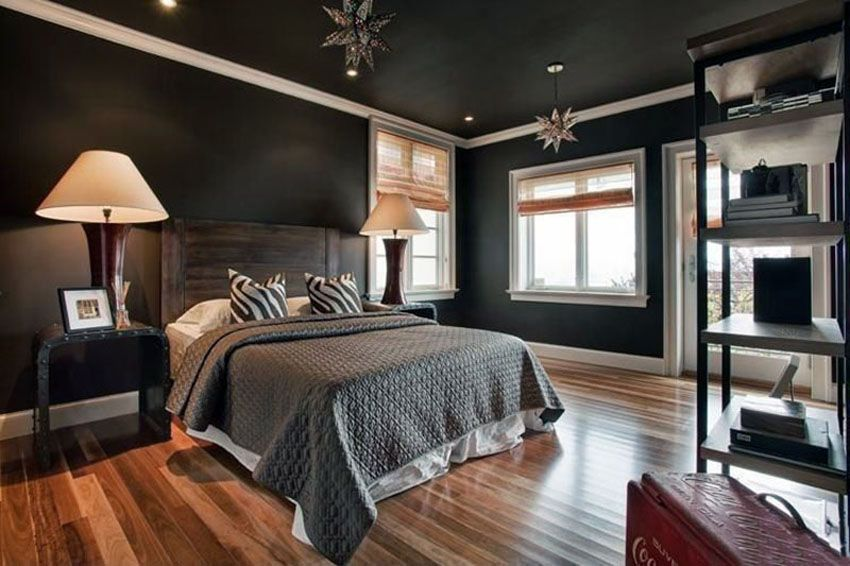 27 Jaw Dropping Black Bedrooms (Design Ideas) Must Have