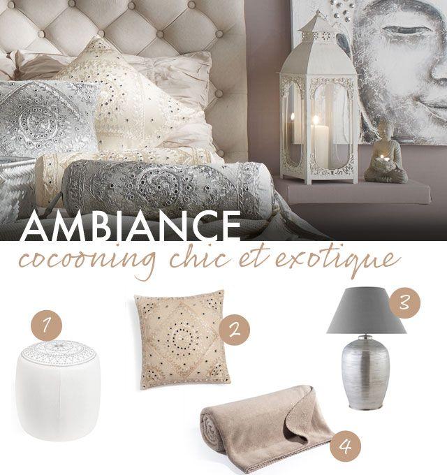 Ambiance Cocooning Chic Et Exotique | Deco Maison | Pinterest