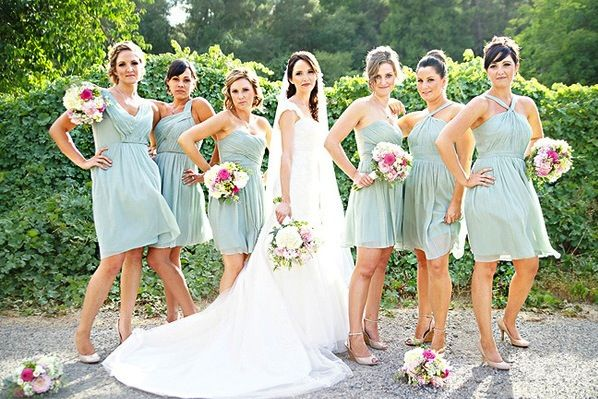 JCrew Dusty Shale All The Pretty Dresses Wedding Bridesmaid Dress Houston 8606104