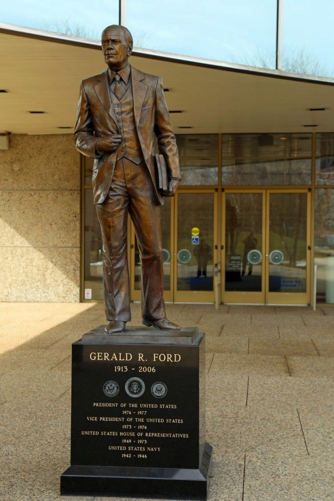 gerald ford presidential museum in grand rapids michigan tammilee tips travel pinterest. Black Bedroom Furniture Sets. Home Design Ideas