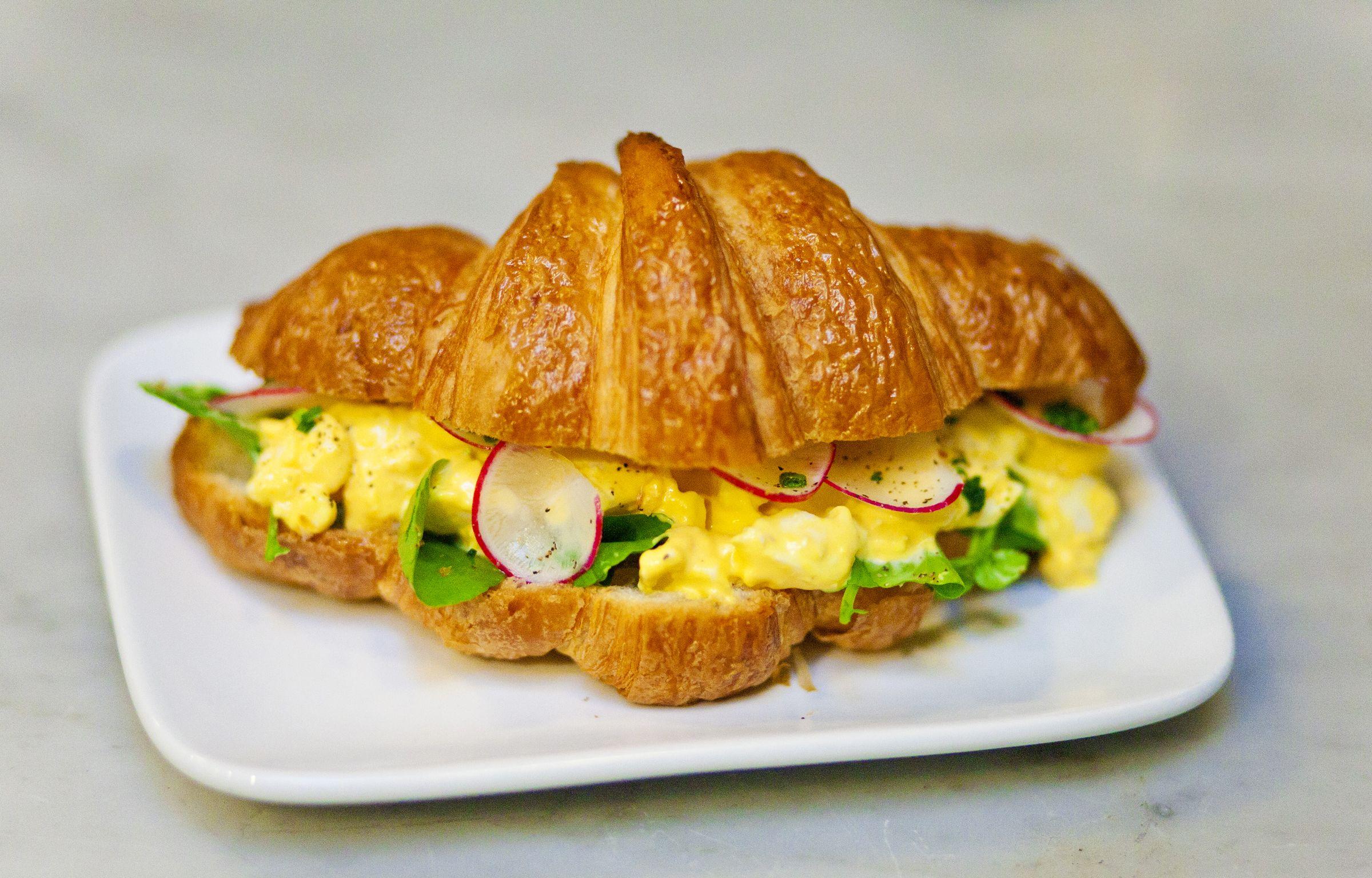 Egg Salad Croissant Sandwich | Delicious! =) | Pinterest