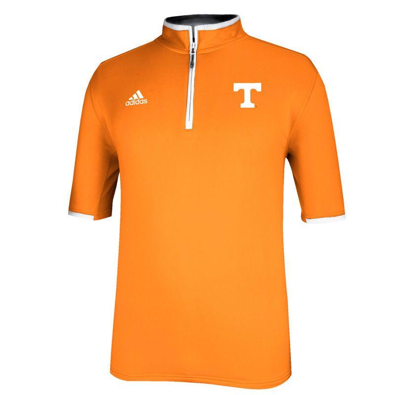 Tennessee Volunteers adidas Sideline Coaches 1/4 Zip Jacket - Tennessee Orange
