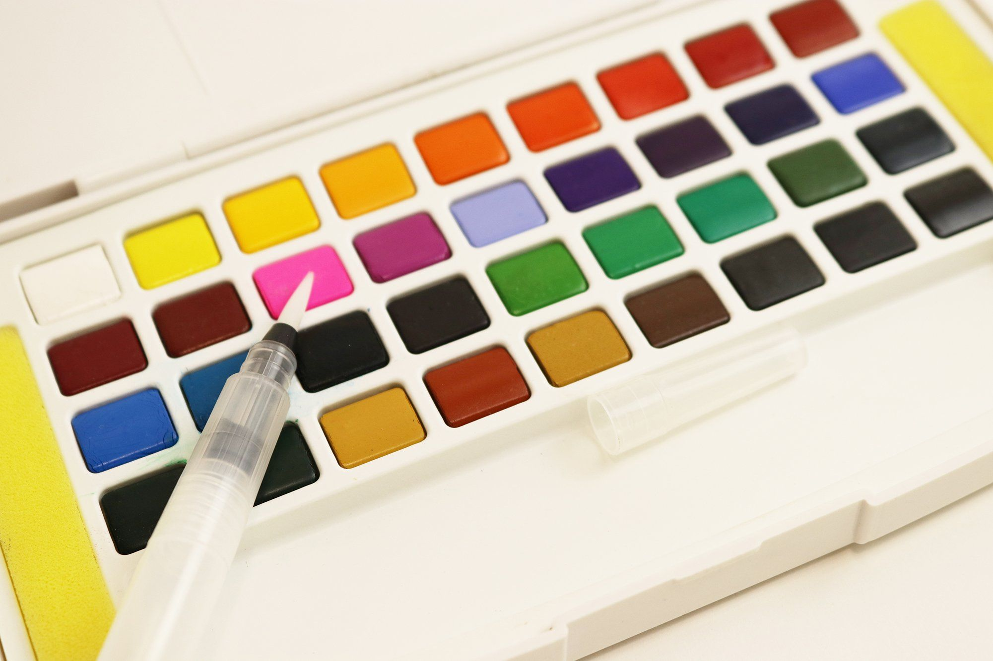 Palette 36 Professional Quality Watercolors The World S