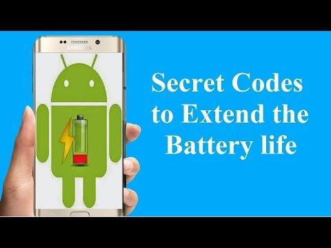 Android Secret Code to Increase Battery Life!! - YouTube | Hacks