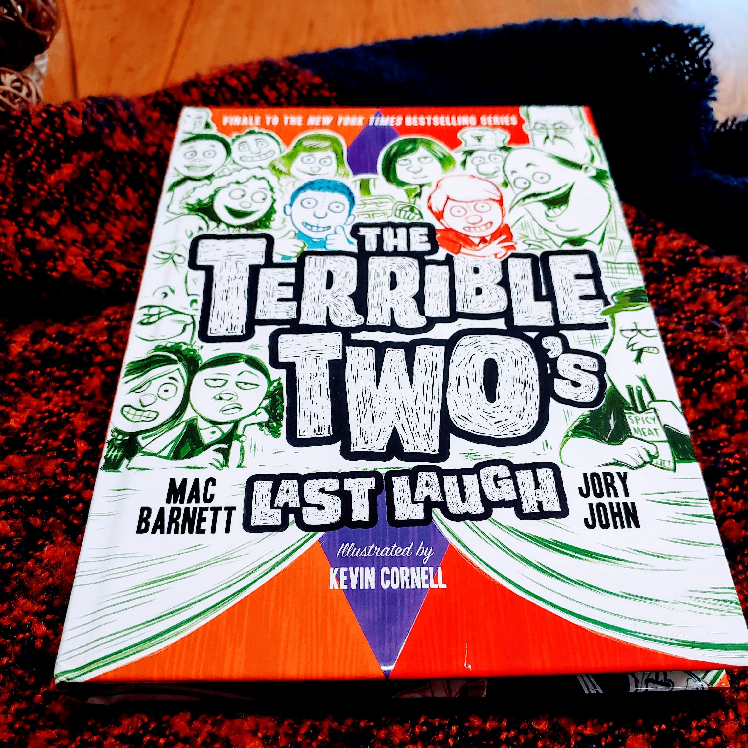 It's the fourth book in the Terrible Two series by Mac