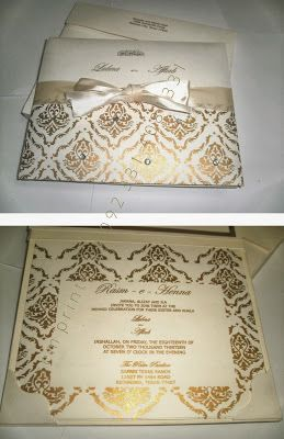 Wedding Cards In Pakistan Wedding Invitations Rsvp Cards Clear