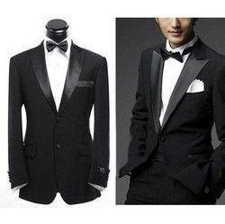 Pradaand Men S Black Wedding Suit Distinguished