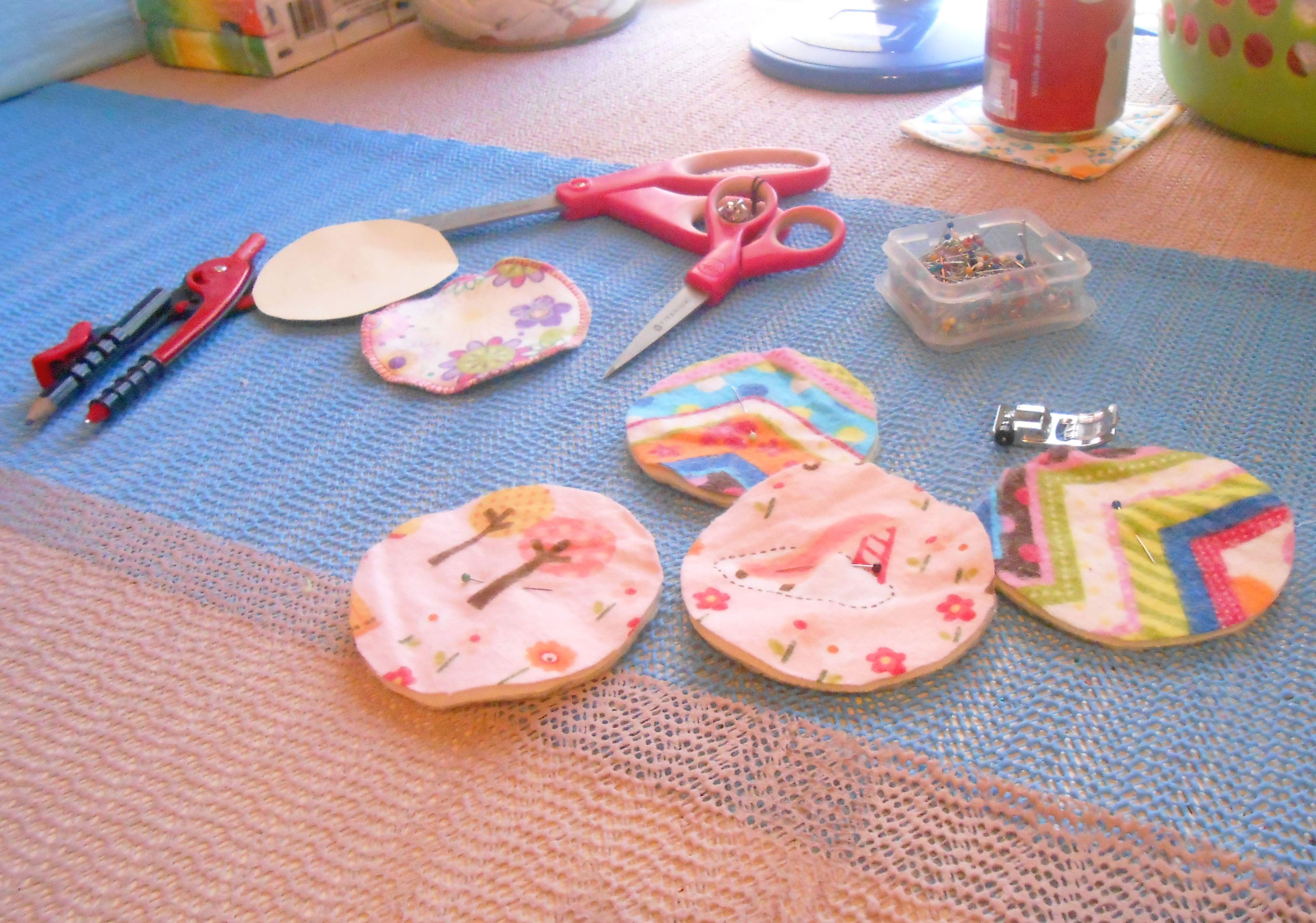 DIY Reusable Cotton Rounds Cotton pads, Eco friendly