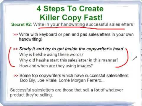http\/\/wwwInformationMarketingExpert - If you want to write - successful sales letter tips
