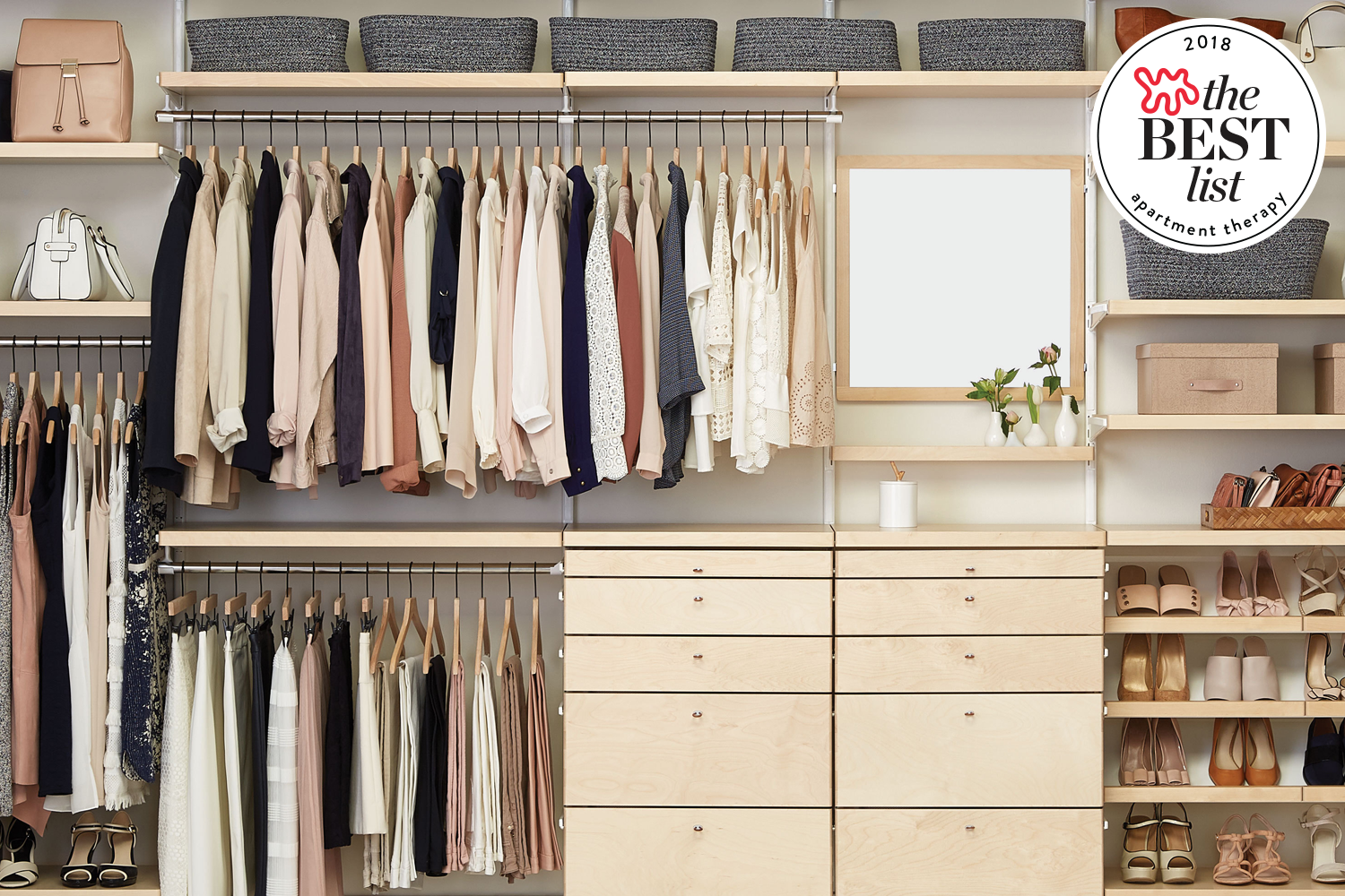 The Best Closet Systems Schrankdekoration Schrank Umgestalten
