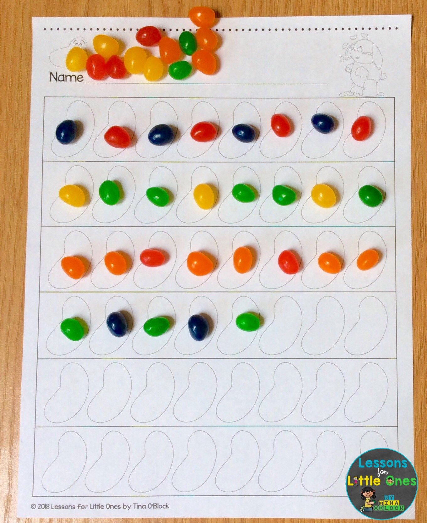 Free Jelly Bean Pages