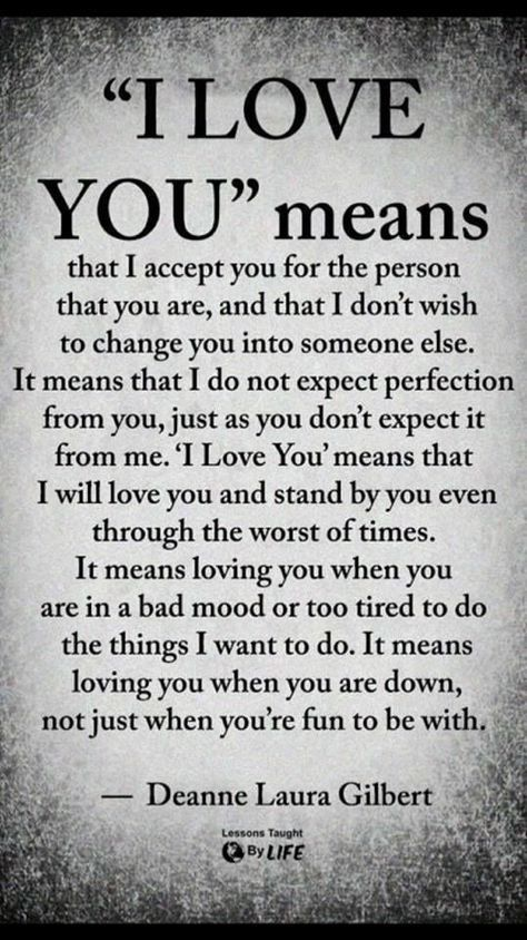 For all of those who may have strifes with the weight of those 3 words. If you feel like it's just right...only then should they be spoken. That's what i think anyway.