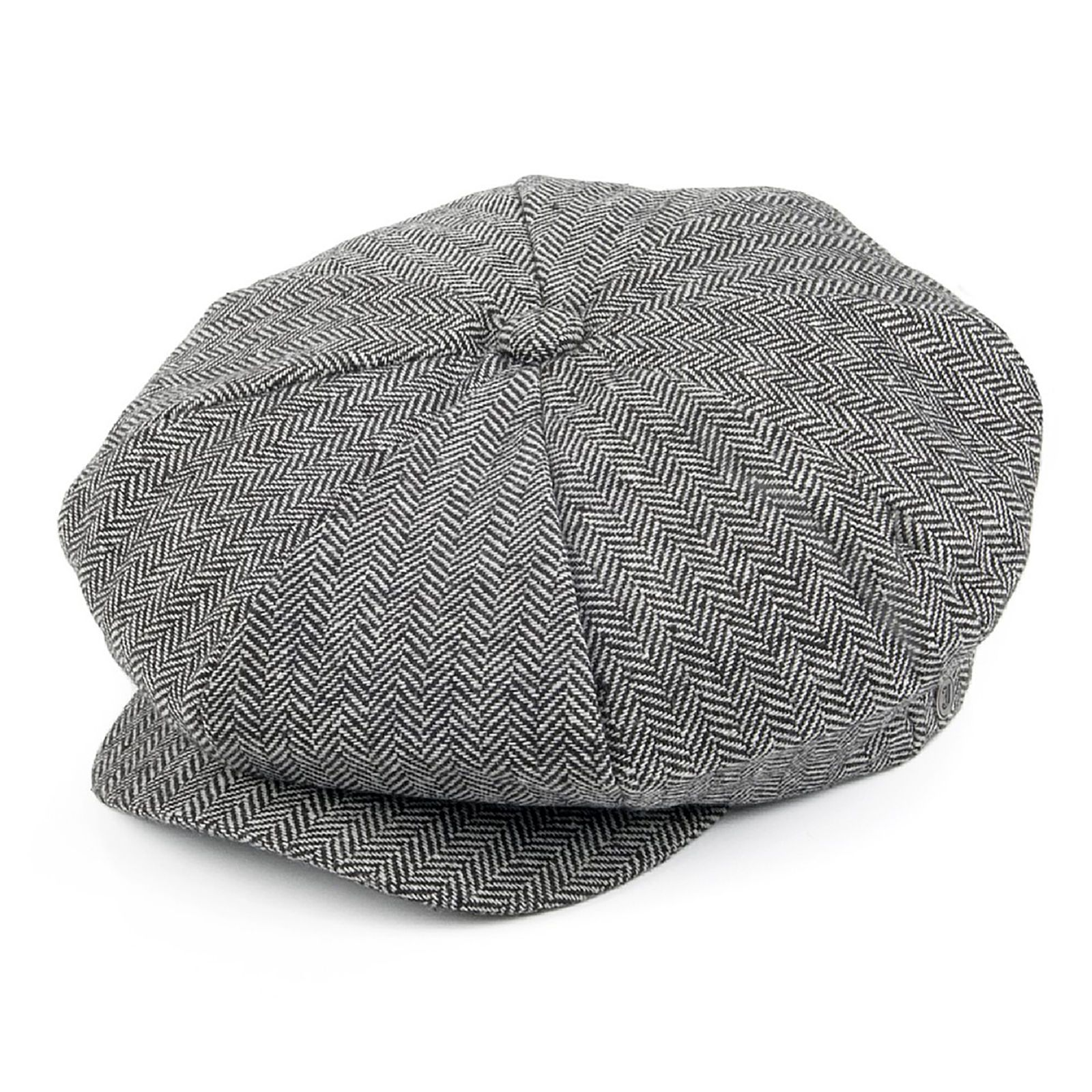 Mens Hats 163619  Jaxon Grey Herringbone Big Apple Newsboy Cap Peaky  Blinders Style Gatsby Hat -  BUY IT NOW ONLY   18.95 on eBay! a80cc5eeedb3
