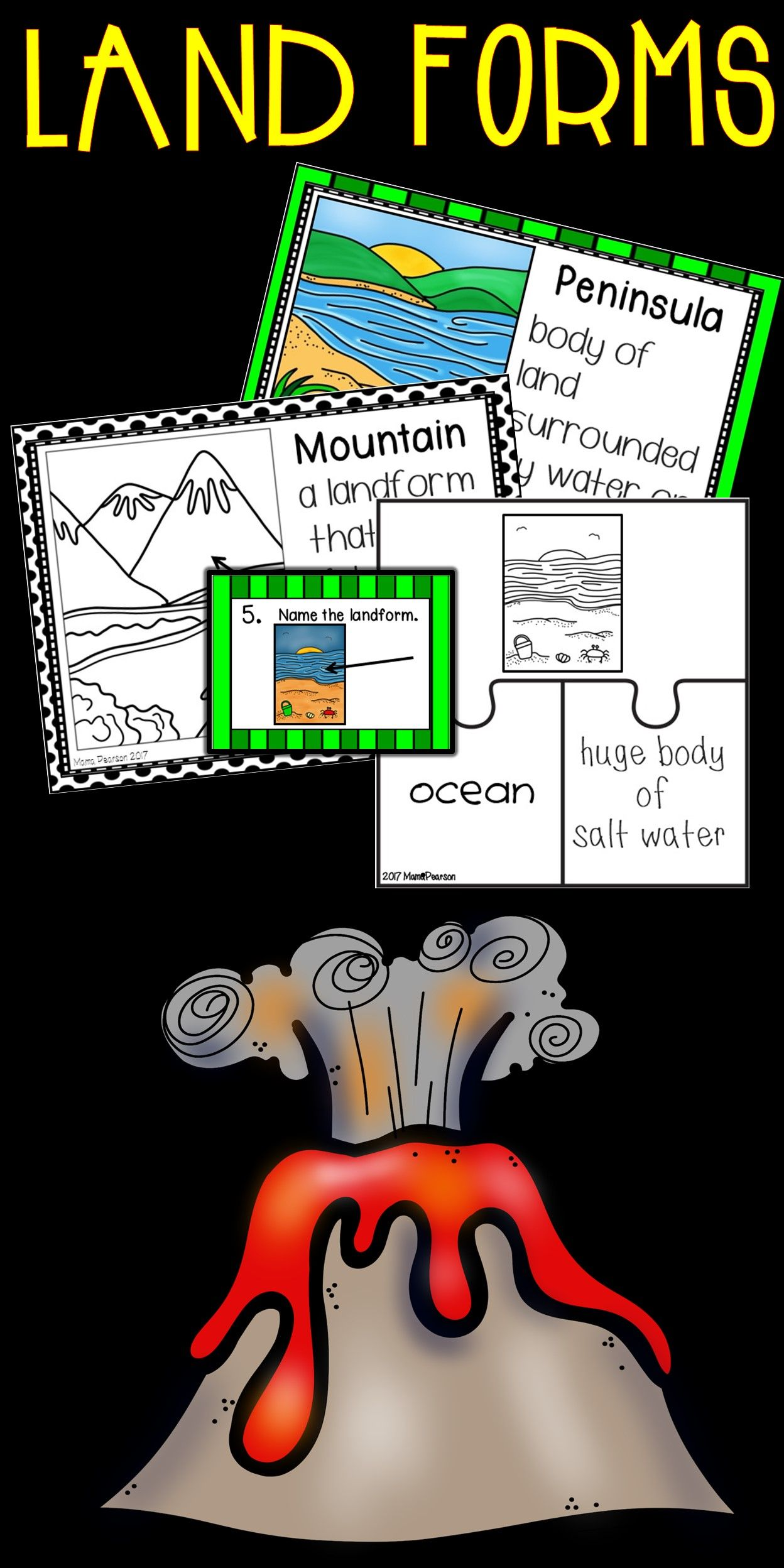 Let S Make Learning About Land Forms Easy For All Levels