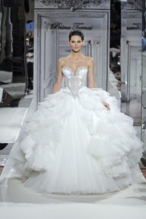 Fresh Pnina Tornai For Kleinfeld Wedding Dress