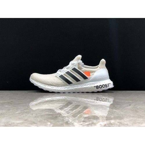 39e8e1046d7 Chaussures OFF White X Adidas - Basket OFF White X Adidas Ultra Boost 3.0  OW Blanc