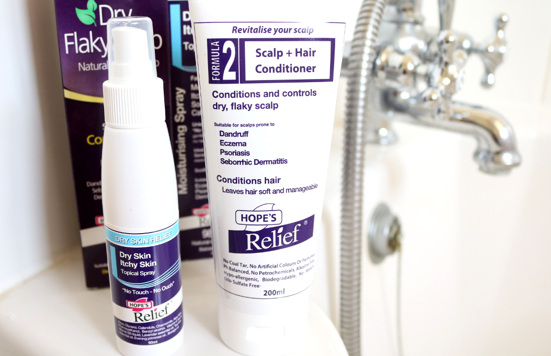 Skincare Helpers from Hope's Relief for Eczema, Psoriasis