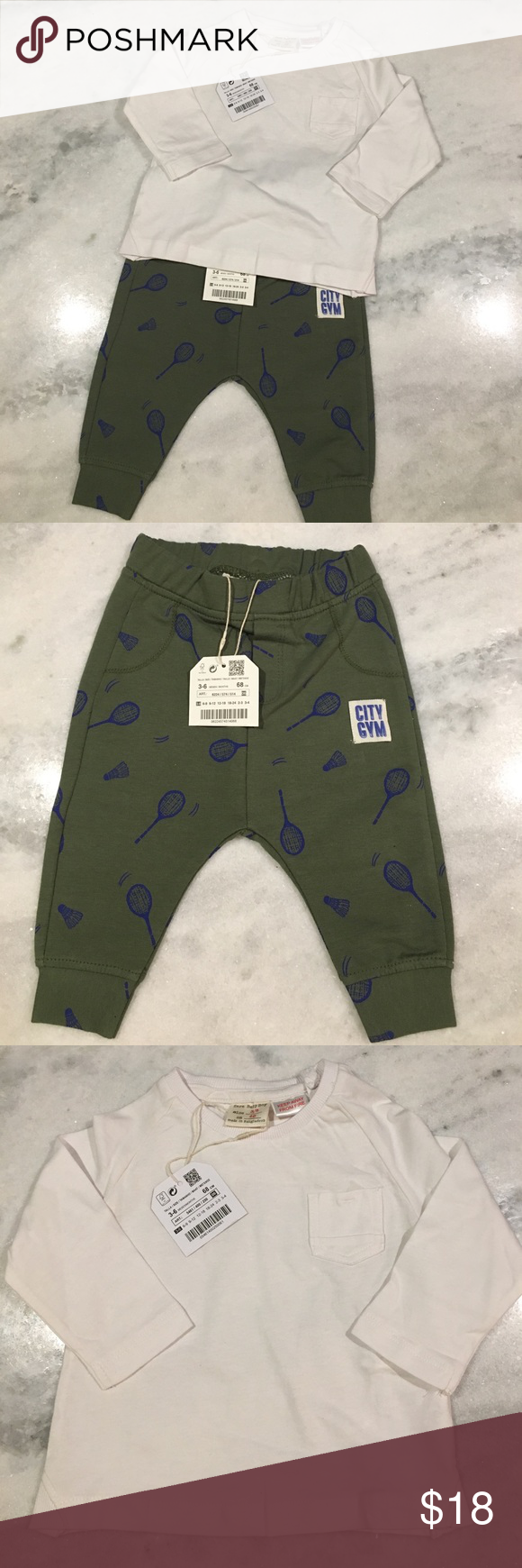 NWT • Zara Baby Boy Racket Set • 3-6months • New with Tags ...