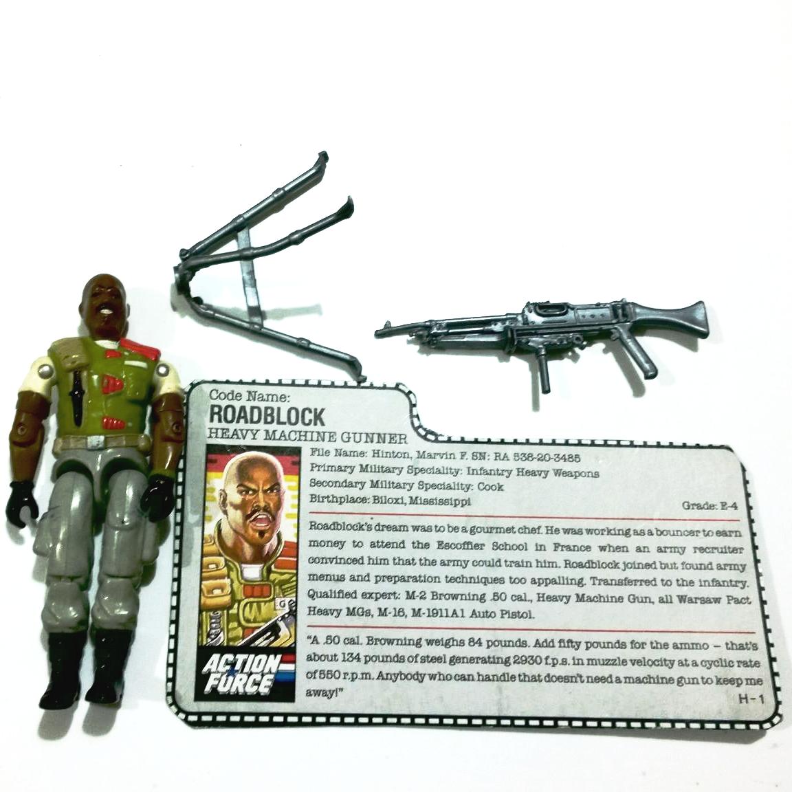 GI Joe figurine Accessoire 1989 Deep Six Rifle Gun