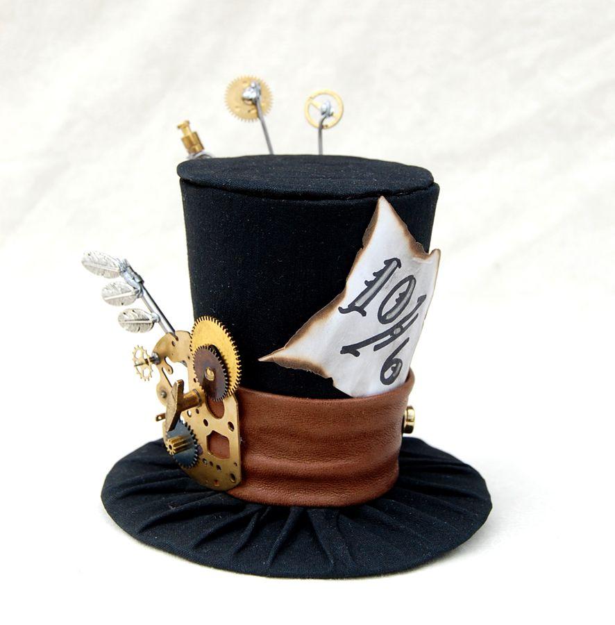 20d2617d Steampunk Mad Hatter   Geek   Steampunk hat, Alice in wonderland ...