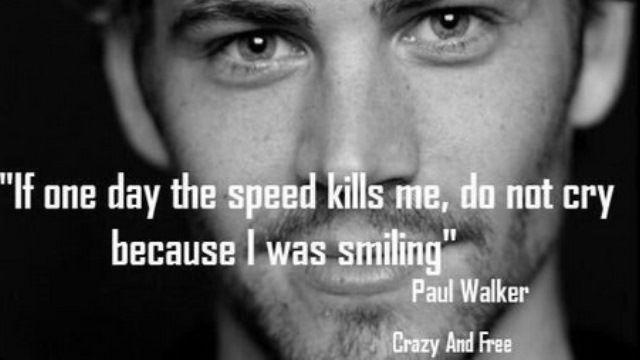 Paul Walker On Social Media Crash Videos Badass Quotes And Last