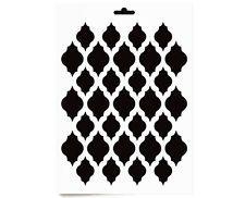 schablone a4 ornament muster m bel wand textil vintage shabby chic bastel 022 diy m bel. Black Bedroom Furniture Sets. Home Design Ideas