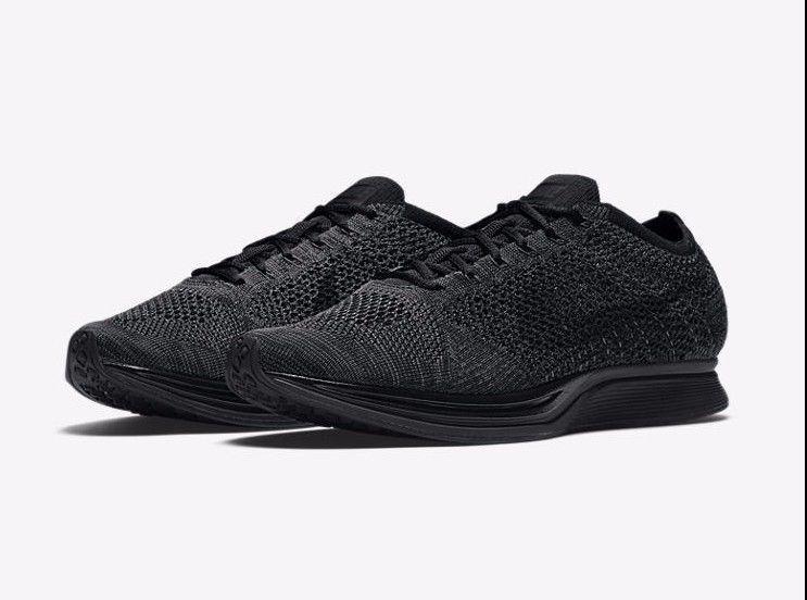 magasin en ligne prix particulier Nike Coureur De Flyknit Triple Boxeurs Noirs Uk tKbtEO2S