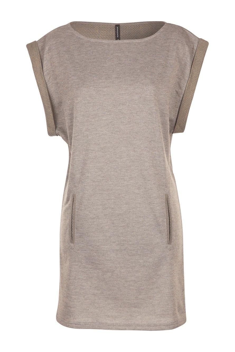 ROBE LUREX BI MATIÈRE NAF NAF - 39.90 €   Looks, Style   Fashion ... 21c3383679f8