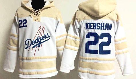 Los Angeles LA Dodgers Light Cotton Hooded Long sleeve tshirt Hoodie Hoody Top