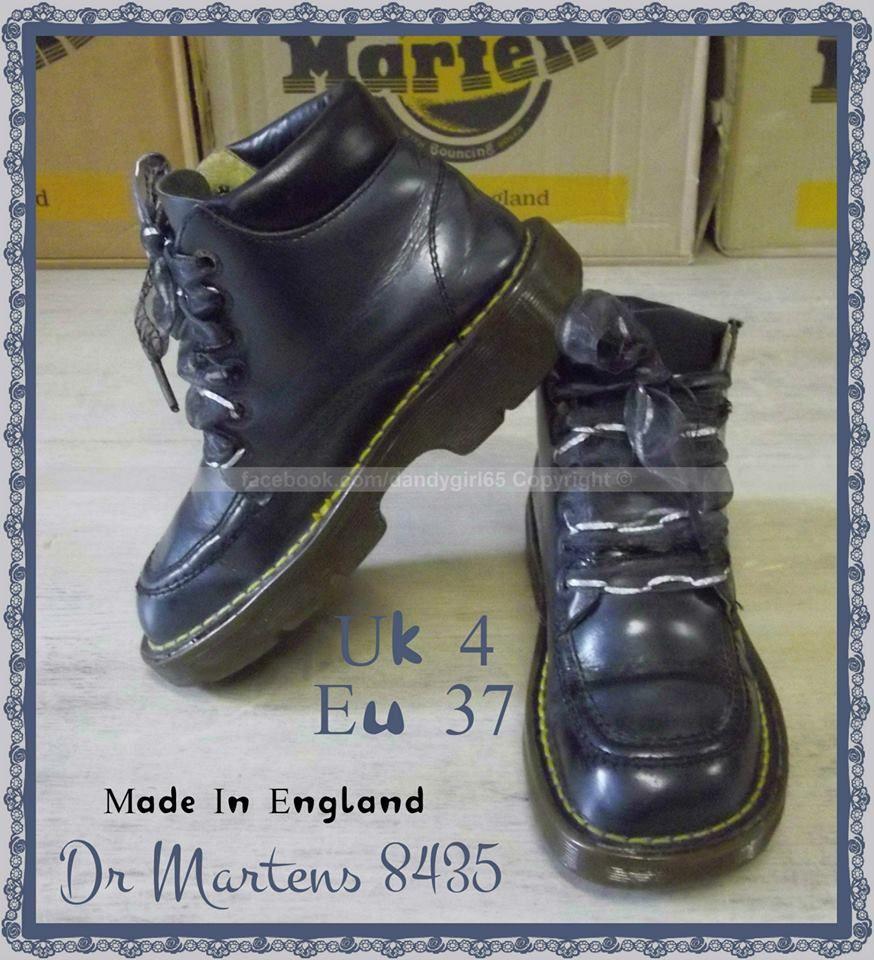 dae4f44744e0f Dr Martens 8435 Bleu métallisé alliance kickers doc martens- série limitée  ☠ Dr. Martens Collection Personnelle ☠ Pas à vendre ☠  dandygirl65
