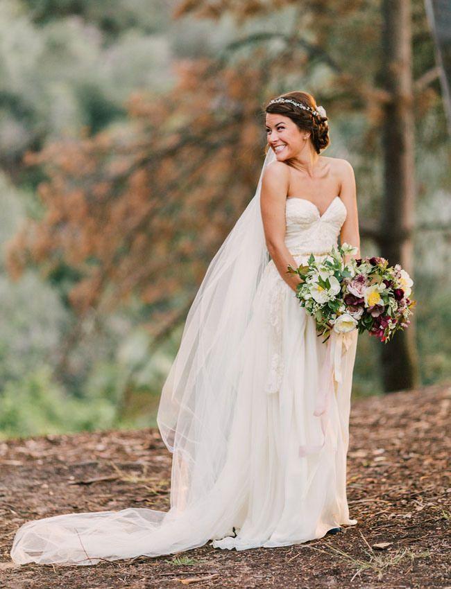cool Модные свадебные прически на средние волосы (50 фото ...