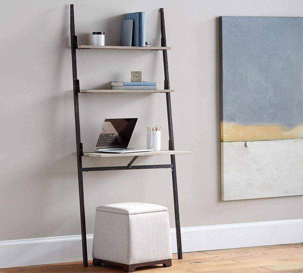 Clarkson Ladder Desk | Office Space | Pinterest | Desks, Office ...