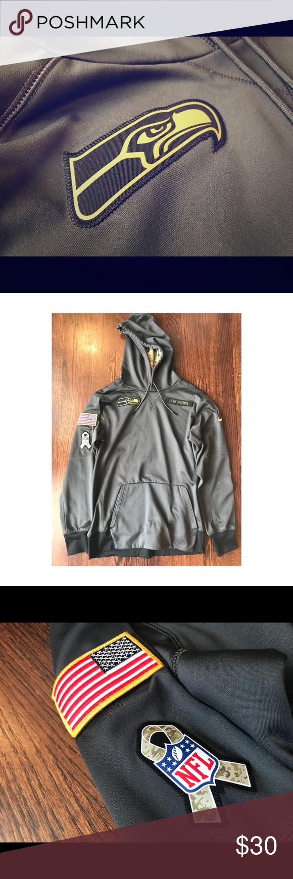 free shipping e86c6 107c4 Nike Seattle Seahawks 'Salute To Service' hoodie. Seattle ...