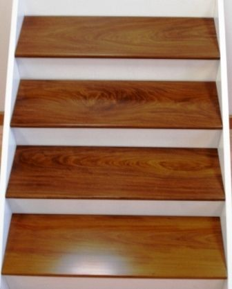 Beau Brazillian Walnut Ez Tread Stair Refacing System Other Wood Species  Available