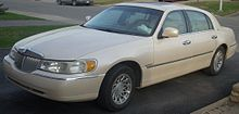 Lincoln Town Car Wikipedia Motorized Road Vehicles Pinterest
