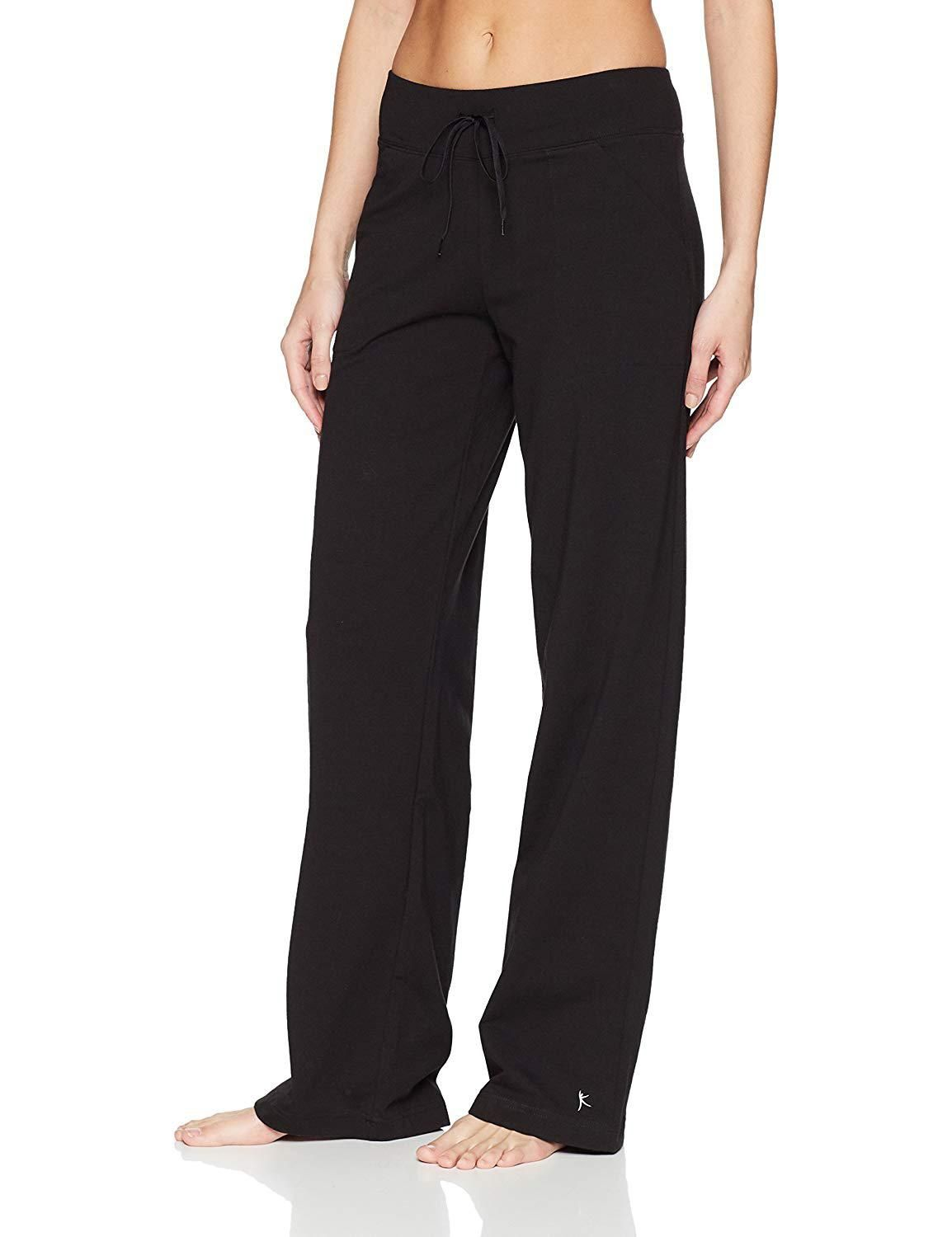 817291e924a4d Danskin Now Womens Dri More Relaxed Pants, Petite Yoga, Fitness ...