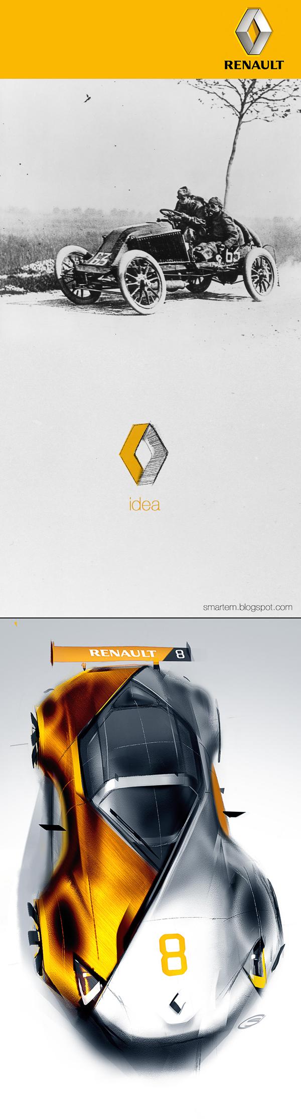 Renault_8 on Behance