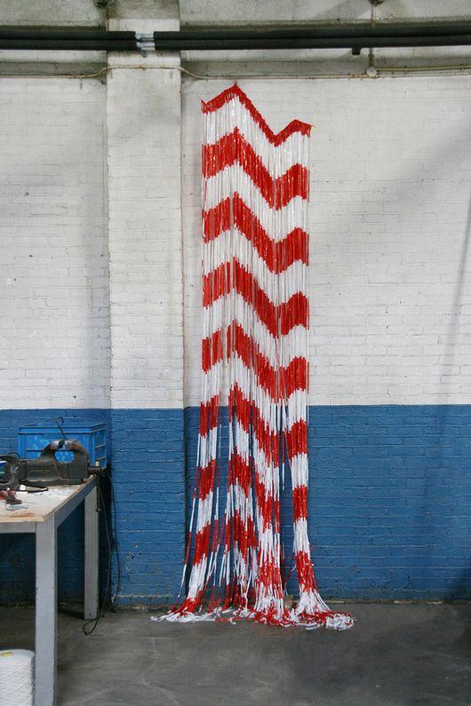 Union Of Striped Yarns By Dienke Dekker Yarn Pop Art Movement