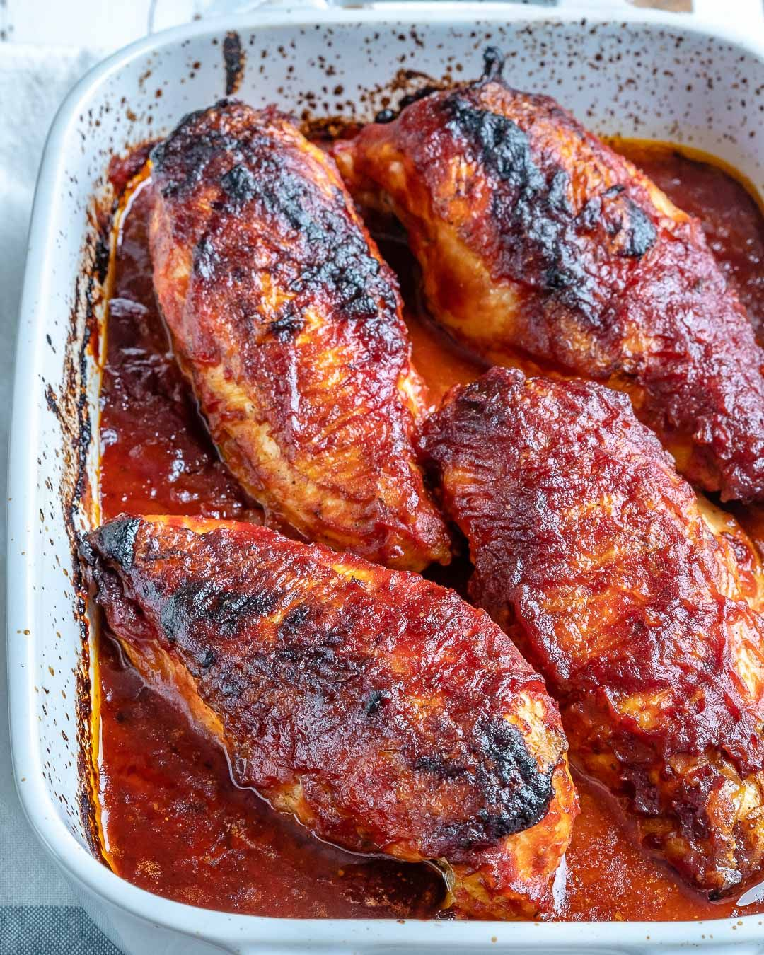Easy And Clean Roasted Bbq Chicken For Happy Family Dinners Clean Food Crush In 2020 Clean Food Crush Clean Recipes Clean Dinner Recipes